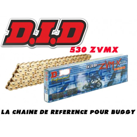 CHAINE DID 530 ZVMX OR